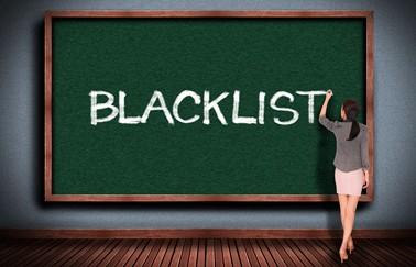 appraiser blacklisting