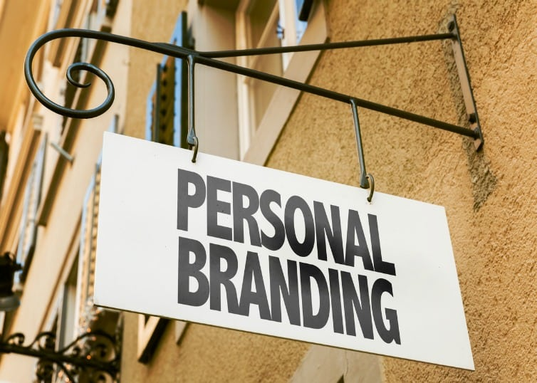 personal real estate brand