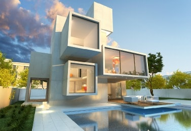 modern homes in real estate