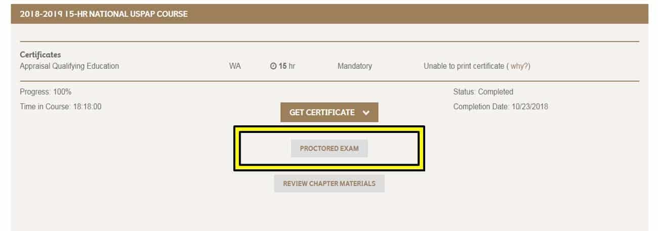 Proctored Exam