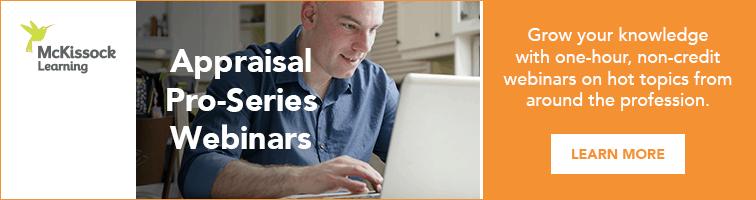 Appraisal Pro-Series Webinars