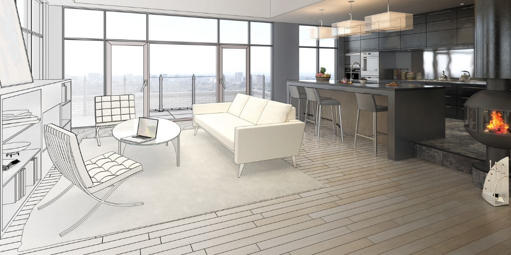 penthouse staging visual
