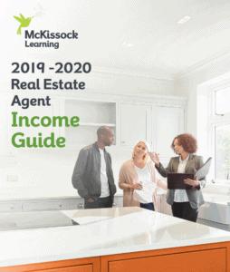 real estate agent income guide cover 2019-2020