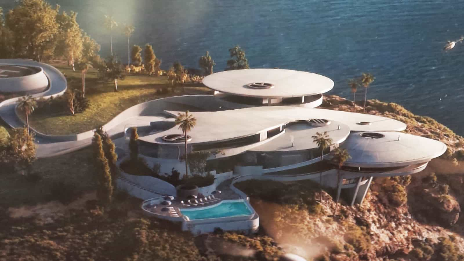 tony stark iron man house