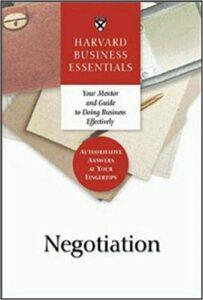 negotiation book cover