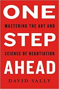 one step ahead book cover