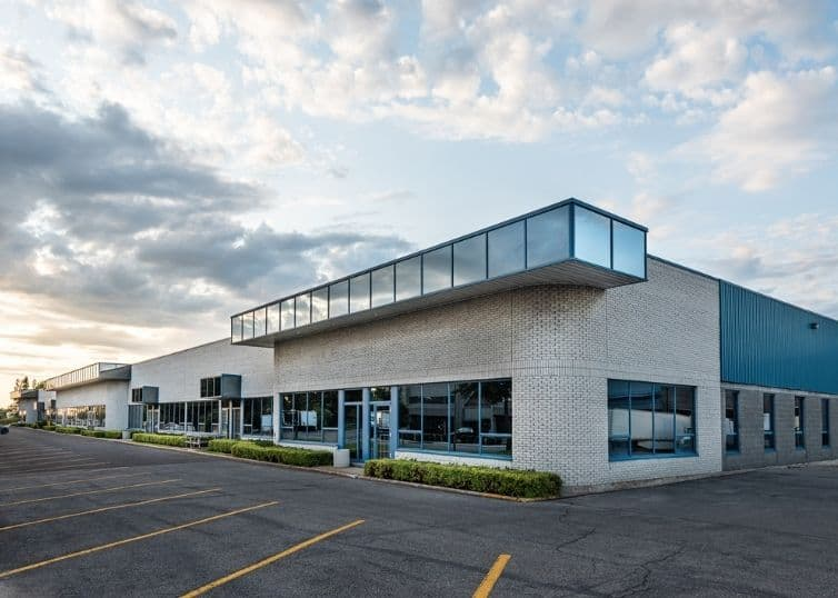 Flex style office building exterior