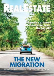 RISMedia April Magazine cover