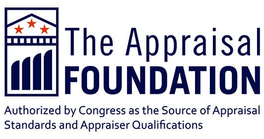 the appraisal foundation logo