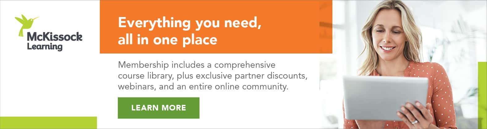 McKissock Appraisal Unlimited Learning Membership